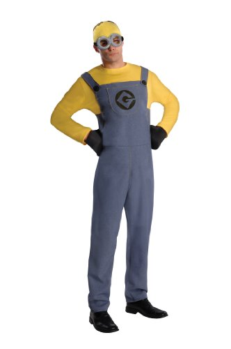 Rubie's Men's Despicable Me 2 Minion Dave Costume