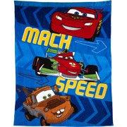 Disney Cars Toddler Blanket pixar cars lightning mcqueen! - 1