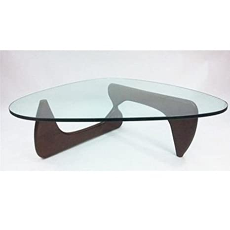 Fine Mod Tribeca Coffee Table, Dark Walnut