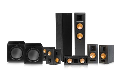 This Bundle Includes2 Klipsch RF 62 II Reference Series Floorstanding Loudspeakers Black2 RS 52 Surround Speakers
