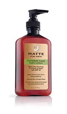 Best Cheap Deal for Matte for Men Complete Face Care Lotion Pump, 6.5-Ounce from Lescoja Corporation - Free 2 Day Shipping Available