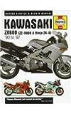 img - for Kawasaki ZX600 (Zz-R600 & Ninja ZX-6): Service & Repair Manual (Haynes Service & Repair Manuals) book / textbook / text book