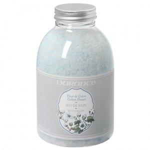 ミネラルたっぷり バスソルト コットンフラワー 〜フローラル系の穏やかな香り〜 600g