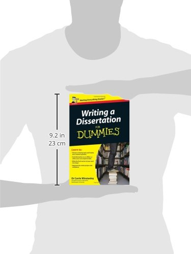 Dissertation For Dummies How To Write