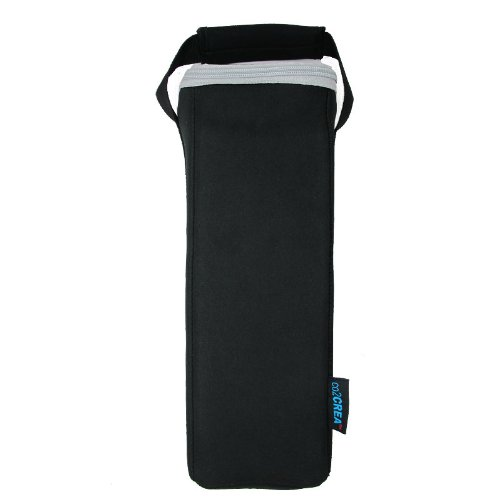 Co2Crea(Tm) Black Carry Travel Soft Case Cover Bag Pouch Sleeve For Jawbone Big Jambox Bluetooth Wireless Speaker
