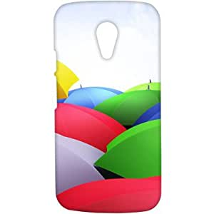 Crackndeal 11ILCMG2 Back cover for Motorola Moto G (2nd gen), (Multi-coloured)