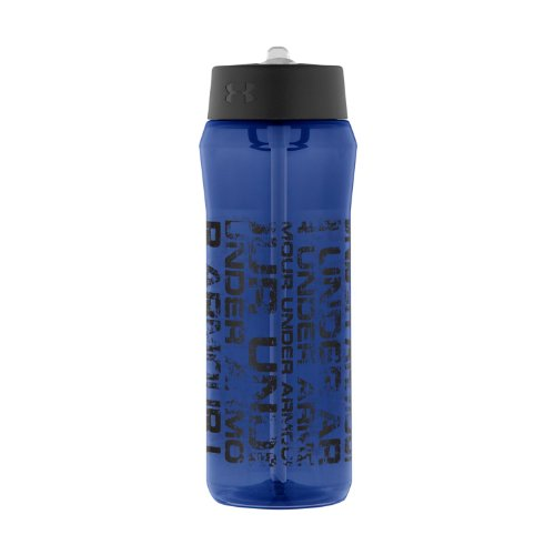 Under Armour Distressed Tritan Bottle, Navy, 24-Ounce front-1036509