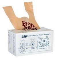 Fresh Sacks Biodegradable Diaper Disposal Bags, Roll of 250 by Bryce Foster