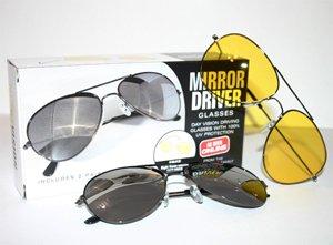 MirrorDriver Sunglasses with Bonus NightVue