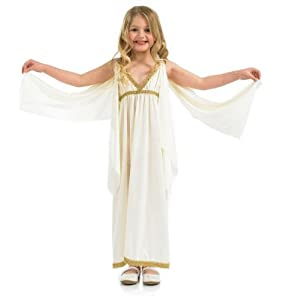 Girls Goddess Costume Large