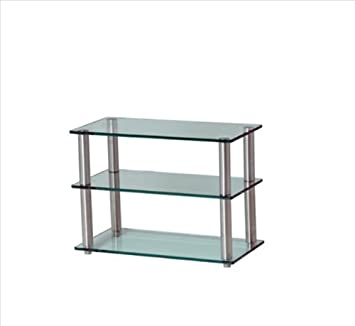 Gem Shallow 3SHELF Frost/COL HiFi/TV Ständer 600 x 300