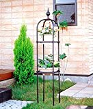 日本製 オベリスク 直径40cm×高さ220cm(埋め込み時200cm) BK-220 植木鉢 鉢 バラ ばら 薔薇 園芸 庭 ガーデニング