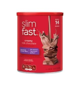 Slimfast 3.2.1. Plan, Creamy Milk Chocolate Shake Mix, 12.83 Ounce 1 Pack (Slim Fast Powder Mix compare prices)