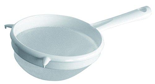 Fackelmann Colino con Rete in Plastica, Bianco, 9 cm