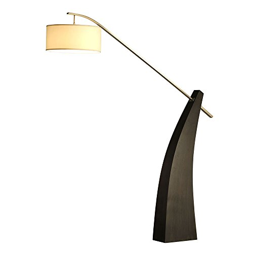 "Modern ""Tusk Arc Lamp"" Nova Lamps Modern Arc Lamp, Large Lamp"