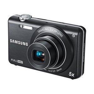 Samsung ST96 Digital Camera - Black (14MP, 5x Optical Zoom) 2.7 inch LCD