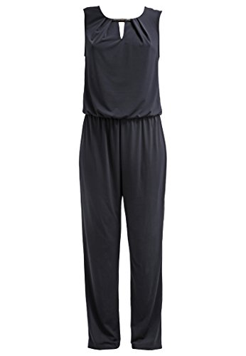 anna field jumpsuit damen elegant in schwarz o blau overall lang aus jersey hosenanzug. Black Bedroom Furniture Sets. Home Design Ideas
