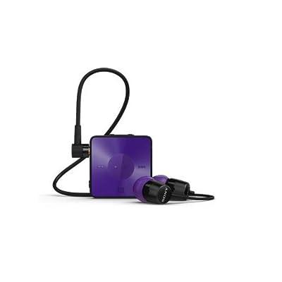 Sony SBH20 Wireless NFC Bluetooth 3.0 In-Ear Headphones Stereo Headset Earbuds, Purple
