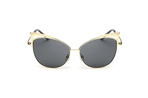 Darkey Wang Woman Fashion Personalized Cat Colorful Grey Sunglasses (Hfp Rims compare prices)