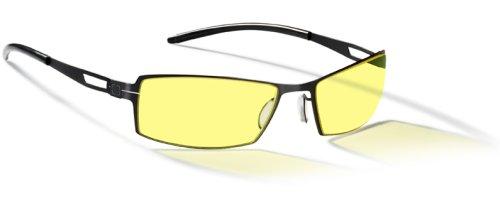 Sale!! Gunnar Optiks G0005-C001 SheaDog Full Rim Ergonomic Advanced Computer Glasses with Amber Lens...