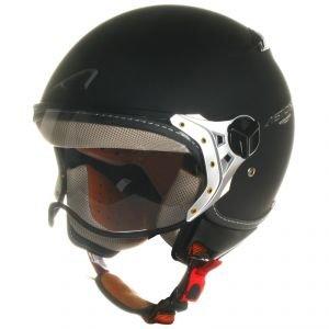 Astone Helmets KSRM-WHM Casque Jet KSR, Blanc Brillant, M