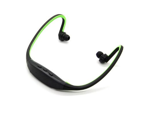 Allmet Behind-The-Neck Bluetooth Headphones, Usb Sports Stereo Wireless Bluetooth Headset Headphone For Iphone, Ipad, Blackberry, Htc, Samsung, Cell Phone And Laptop Pc (Green)