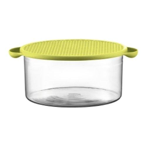 Bodum 11334 565 pavina saladier 0699965103101 cuisine - Saladier en verre avec couvercle ...