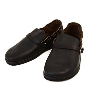 FERNAND LEATHER(フェルナンドレザー) Middle English -ブラック-(オーロラシューズ シューズ サンダル 靴) US9 ブラック