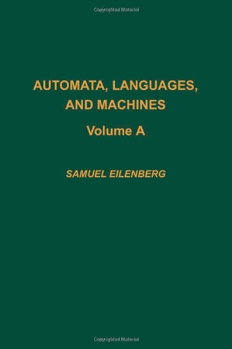 Automata, Languages, and Machines/Part A
