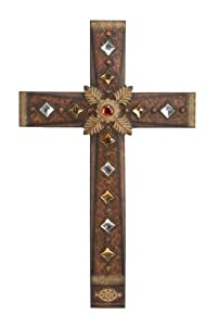 Decorative Metal Cross Wall Decor Home Kitchen