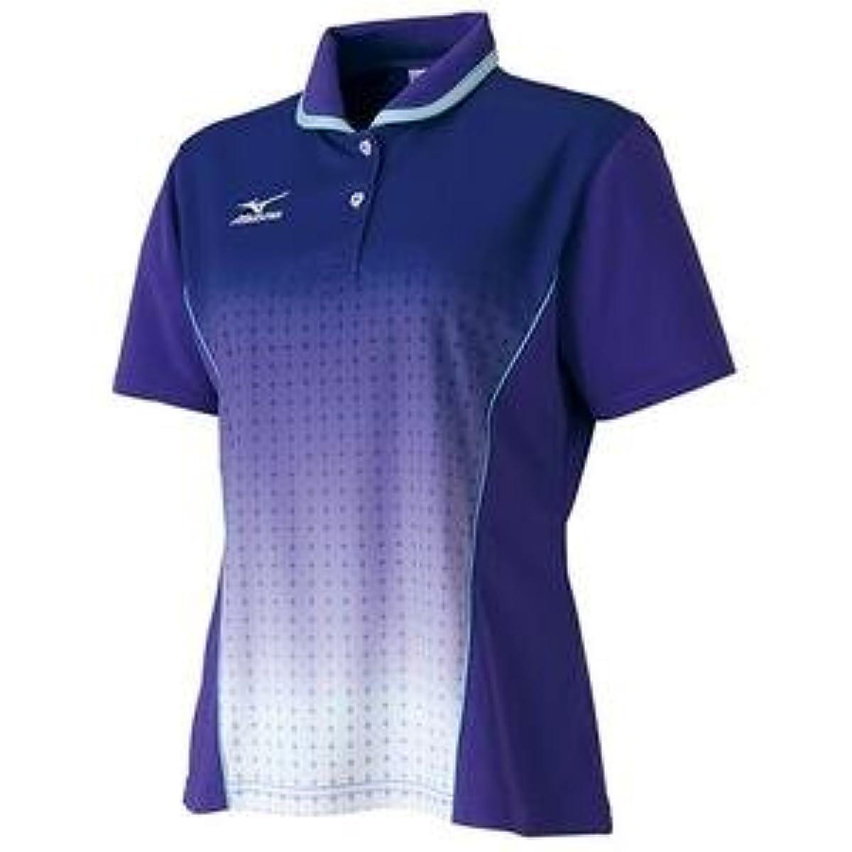 [해외] MIZUNO 게임 셔츠(탁구/레이디스)(퍼플) 주문 상품 사이즈:M