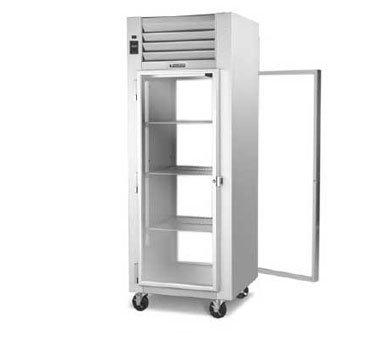 Traulsen G-Series G11015P Glass Door 1-Section Refrigerator