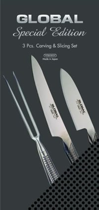 Global 3 Piece Carving and Slicing Set