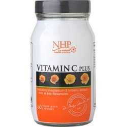 NHP Vitamin C Plus Nutritional Supplement - 60 Capsules