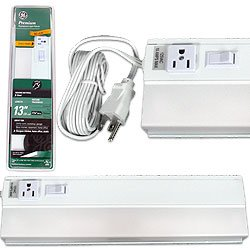 GE 13 Inch Energy Saving Fluorescent Light Fixture. Product Category: Lighting OLD > Hall & Foyer Lights