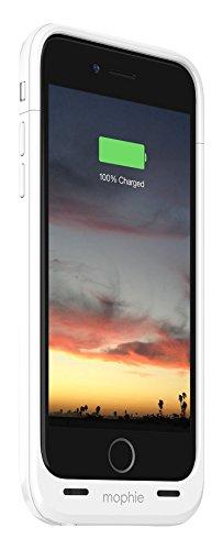 MOPHIE iPhone 6用 Juice Pack Air 高耐衝撃/バッテリー内蔵 (2750mAh・ホワイト) MFi認証 3044_JPA-IP6-WHT
