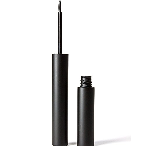 Black Liquid Eyeliner Waterproof, Smudge Proof, Long Lasting, Best For Precise Eye Makeup - Smooth Application With Slim Fine Brush, Great For Sensitive Eyes - All Day Wear For The Professional Look (Cargo Lip Liner compare prices)
