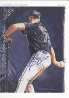 Aaron Heilman Norfolk Tides - Mets Affiliate 2003 Topps Gallery Autographed Hand... by Hall of Fame Memorabilia