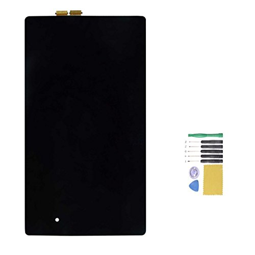 Jingxiguoji™ Novelty Replacement Digitizer And Touch Screen Lcd Assembly With Tools For Asus Google Nexus 7 Fhd (2013 Second Generation)