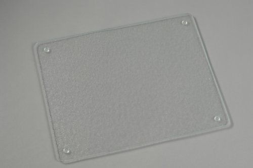 Surface saver tempered glass cutting board 20 x 16 inch clear home garden kitchen dining - Decorative tempered glass cutting boards ...
