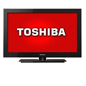 Toshiba 26SL400U 26-Inch 720p Ultra Thin LED HDTV, Black