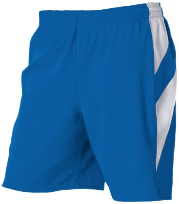 Alleson 539PW Women s Varsity Basketball Shorts RO/WH - ROYAL/WHITE WXL