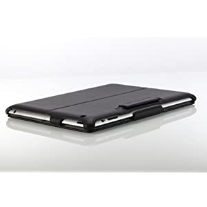 MoKo Slim-Fit Folio Stand Case for The New iPad - Side