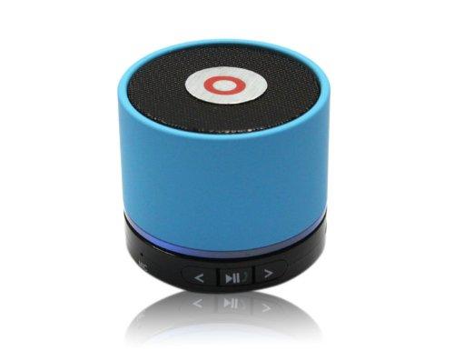 Classic Mini Bluetooth Tf Slot Handfree Stereo Speaker Beats 4.0 Blue