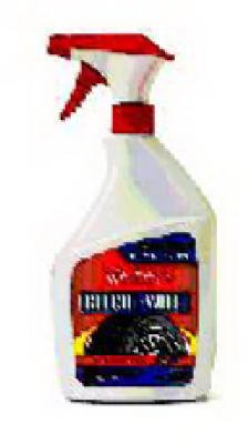 Blue Coral 32Oz Bleach Tirecleaner (Pack Of 6) 555-6P Auto Tire Cleaner/Polish
