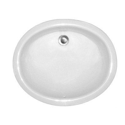 Amazing CorStone Advantage Elko Undermount Oval Bathroom Sink Finish Biscuit Microban