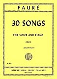 img - for 30 Songs for Voice and Piano (High) No. 1601 book / textbook / text book