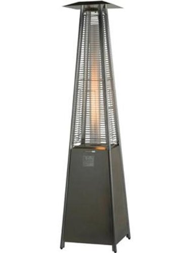 Athena - Living Flame 9.3 Kw Patio Heater c/w Free Cover