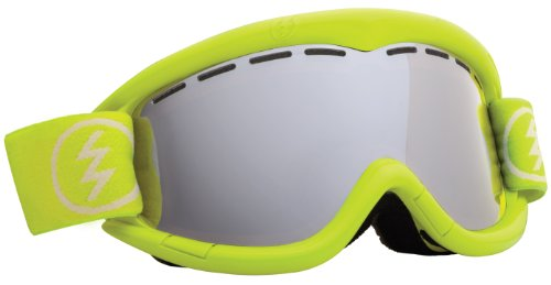 Electric Eg1K Snow Goggle, Toxic Snot, Bronze/Silver Chrome