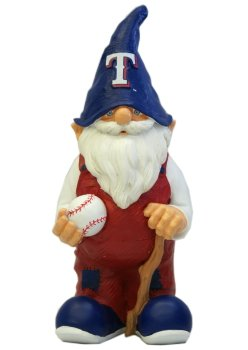 Texas Rangers Male Garden Gnome